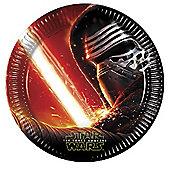 Star Wars Kylo Ren Paper Plates - Pack Of 8