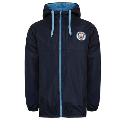 Manchester City FC Mens Shower Jacket XXL