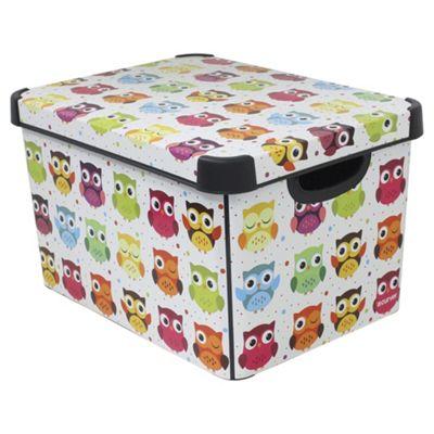 Owls Storage Box  sc 1 st  Tesco & Buy Owls Storage Box from our Storage Boxes range - Tesco