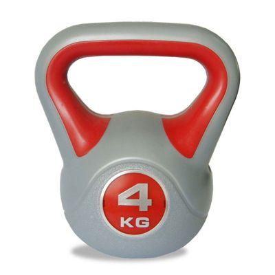 Body Power 4kg Vinyl Kettlebell