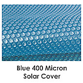 Blue 400 Micron Pool Solar Cover- 16ft x 32ft Rectangular