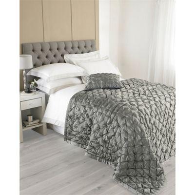 Riva Home Limoges Grey Bedspread - 150x200cm