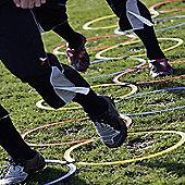 Precision Training Interlocked Speed Agility Hoop Ladder - 12 Hoops