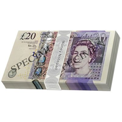£20 Note Pad