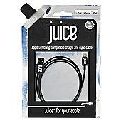 Juice Lightning Data Cable 1M Black