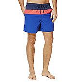 F&F Colour Block Swim Shorts - Blue