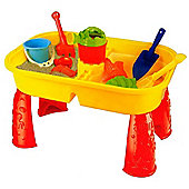 Sand and Water Activity Table Garden Sandpit Play Set