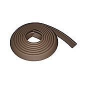 Safetots Premium Furniture Edge Cushion Brown