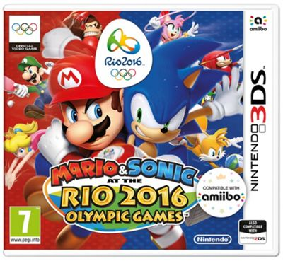 3DS Mario & Sonic: Rio 2016 Olympic Games