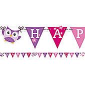 Owls Letter Banner