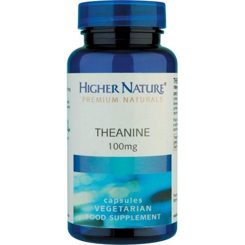 Higher Nature Theanine 100mg 30 Veg Capsules