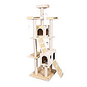 Confidence Pet Presidential Cat Kitten Tree Scratch Post Activity Centre Beige