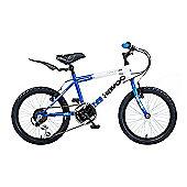 """Concept Havoc 18"""" Kids' Bike, Blue/White"""