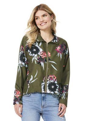 Vila Floral Blouson Jacket Multi XL