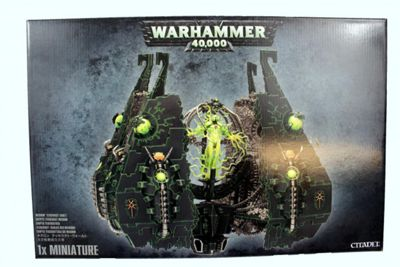 Warhammer Necron Tesseract Vault Model Kit