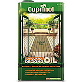 Cuprinol UV Guard Decking Oil - Natural Oak - 5 Litre