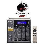 QNAP TS-453A-8G/8TB-IW 4-Bay 8TB(4x2TB Seagate IronWolf) Network Attached Storage