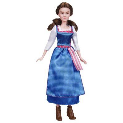 Disney Princess Beauty And The Beast Village Dress Belle Doll