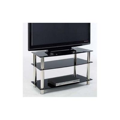 Home Zone Occasional Bella TV Stand - Black