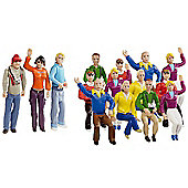 CARRERA 21128 Set of Figures, Fans
