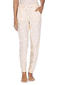F&F Star Print Lounge Pants - Peach