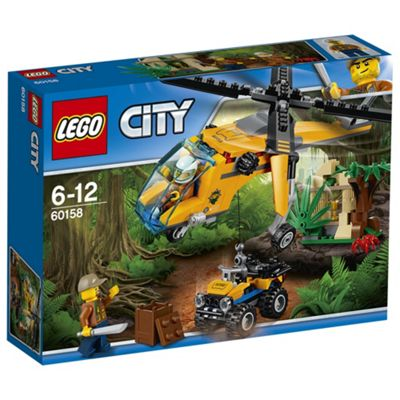 LEGO City Jungle Explorers Jungle Cargo Helicopter 60158