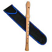 Tiger Solid Wooden Descant Recorder
