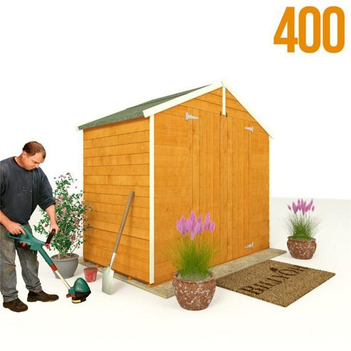 BillyOh 400 4 x 7 Windowless Overlap Apex Shed