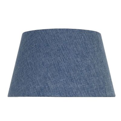 Stonewash Linen 10 Inch Empire Shade (Dual Fitting)