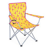 Trail Flamingo Folding Festival Chair - Yellow
