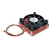 StarTech.com 1U 60x10mm Socket 7/370 CPU Cooler Fan w/ Copper Heatsink & TX4
