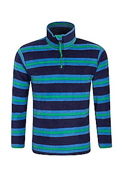 Mountain Warehouse Pursuit Kids Printed Fleece - Green