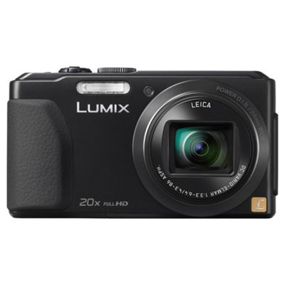 Panasonic Lumix TZ40 Digital Camera Black, 18MP 20x Optical Zoom 3.0