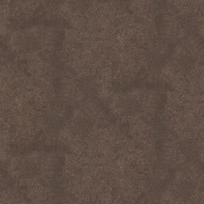 Boutique Moonstone Chocolate and Copper Plain Wallpaper
