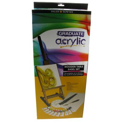 Daler Graduate Acrylic Table Easel Set