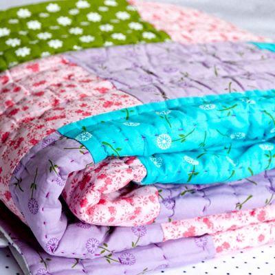 Floral Children's Quilt