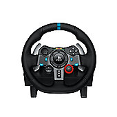 Logitech G29 Driving Force Racing Steering Wheel and Pedal Set for PC and PS
