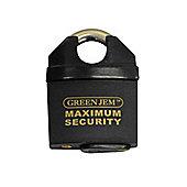 Green Jem 65mm Maximum Security Padlock