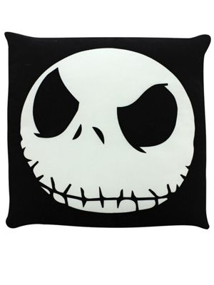 The Nightmare Before Christmas Jack Face NBX Cushion 48x48cm Black