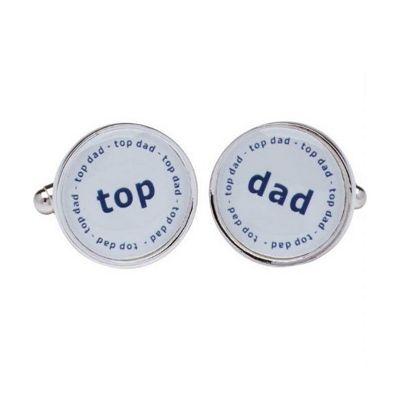 Maze Top Dad Cufflinks