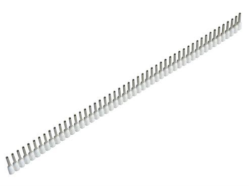 Jokari Wire End Sleeves 0.5 x 8mm White 500 Piece