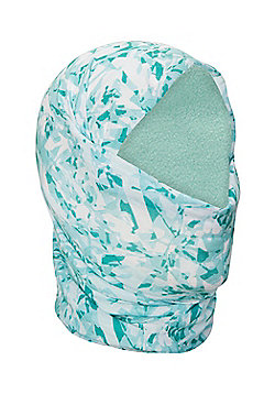 Mountain Warehouse Patterned Womens Polar Fleece Headtube - Green