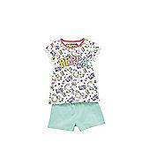 Peppa Pig Rainbow Pyjamas - White/Multi