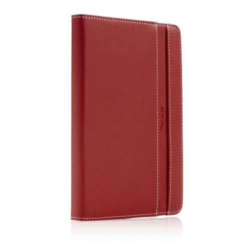 Targus Kickstand Slim Folio Case and Stand (Red) for iPad Mini