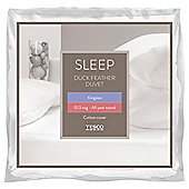 Tesco Duck Feather 10.5 Tog King Size Duvet