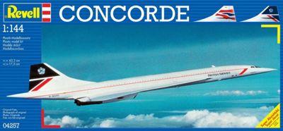 Concorde British Airways 1:144 Scale Model Kit - Hobbies