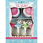 The Ballet Cupcake Cases & Toppers