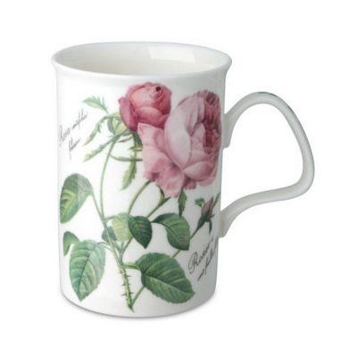 Roy Kirkham Redoute Rose Mug