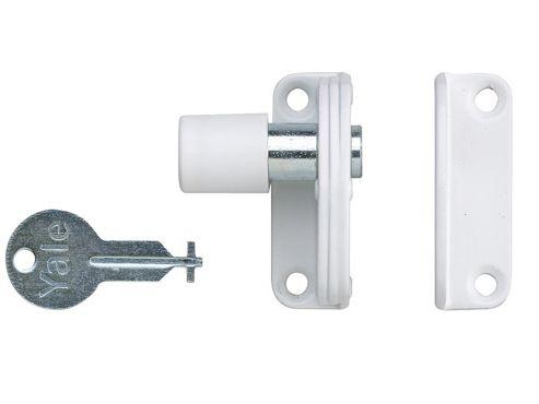 Yale Locks P123 Sash Window Presslock White