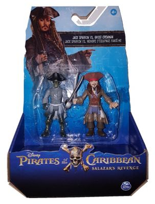 Pirates of the Caribbean: Salazar's Revenge - Jack Sparrow vs Ghost Crewman